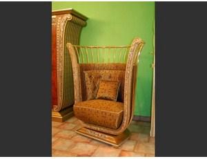 Кресло в ткани