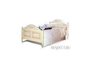 Кровать 90 с изножной спинкой