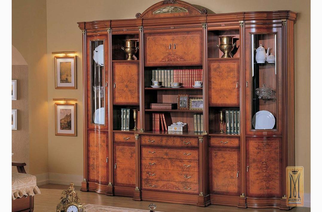 Гостиная атланта фабрика дана каталог мебели: стол, шкаф, кр.