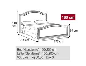 Кровать 160 Gendarme