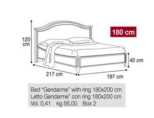 Кровать 180 Gendarme