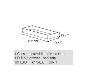 Ящик для кровати-софы