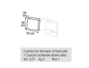 Подушка для кровати-софы