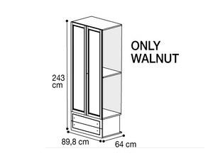 Секция 2 двери с 2мя ящиками