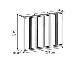 Шкаф 6х дверный