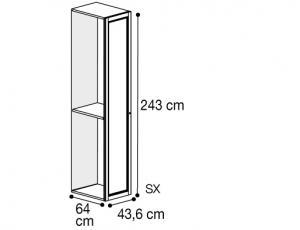 Секция 1 дверь левая