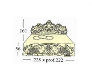 Большая двух спальная кровать King- sing