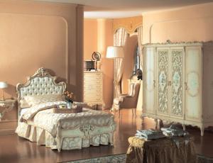 Мебельный гарнитур для одноместной спальни CALIPSO в стиле Барокко