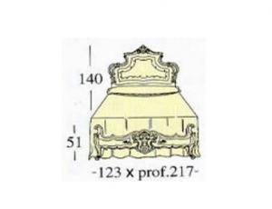 Широкая односпальная кровать Extra-size с декоративной панелью