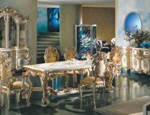 Мебельный гарнитур для столовой MINERVA в стиле Барокко