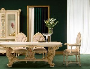 Мебельный гарнитур для столовой FIDIA в стиле Людовика 16