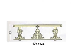"""Прямоугольные столы """"макси"""" с декоративной и стеклянной столешницей (основание на 6-ти колоннах и +2 корзины)"""