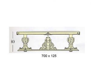 """Прямоугольные столы """"макси"""" с декоративной и стеклянной столешницей (основание на 8-ми колоннах и +4 корзины)"""
