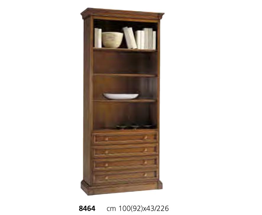 Книжный шкаф armonia из американского розового дерева, selva.