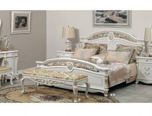 Спальня Afina белая c золотом фирма Анна Потапова