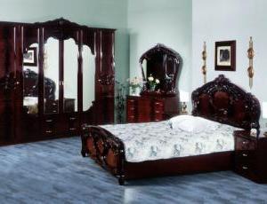 Спальня ОЛЬГА могано фабрика Диа-мебель