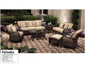 Плетеная мебель Palisades фирма Эдем