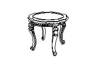 Стол чайный В круглый