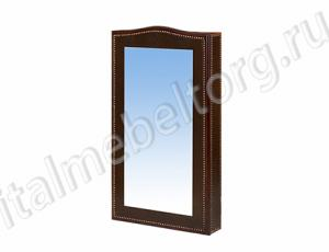 "Зеркало ""Шевалье - 1/1"" (зеркало с коробом на три полочки)"