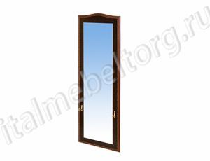 """Зеркало """"Шевалье - 4"""" (зеркало высокое с двумя декоративными крючками по бокам)"""