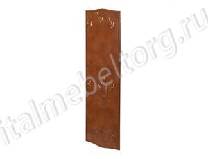 """Вешалка """"Шевалье - 5"""" (вешалка с тремя крючками для верхней одежды и головных уборов и двумя дополнительными маленькими крючками)и"""