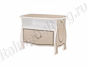 """Скамья с ящиком """"Шевалье"""" (скамья с нижним выдвижным ящиком и нишей для мелочей"""