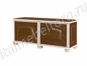 """Тумба """"Парма - 3"""" (тумба с двумя распашными дверцами двумя отделениями на две полочки и местом для сидения)"""