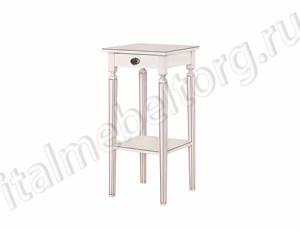 """Стол """"Бемоль"""" (столик с выдвижным ящиком и полочкой)"""