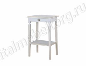 """Стол """"Бемоль - 2"""" (столик с выдвижным ящиком и полочкой"""