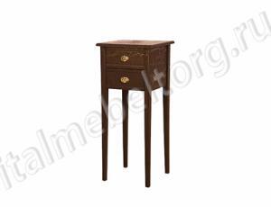 """Стол """"Диез"""" (столик с двумя выдвижными ящиками)"""