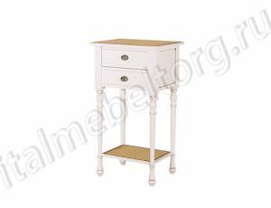 """Стол """"Диез - 2 ДК"""" (столик с двумя выдвижными ящиками и полкой)"""
