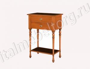 """Стол """"Диез - 3 ДК"""" (столик с двумя выдвижными ящиками и полкой)"""