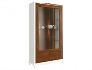 Витрина 2-дверная стекло