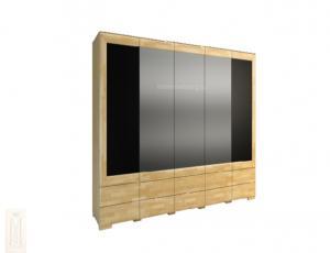 Шкаф 5 дверный высокий