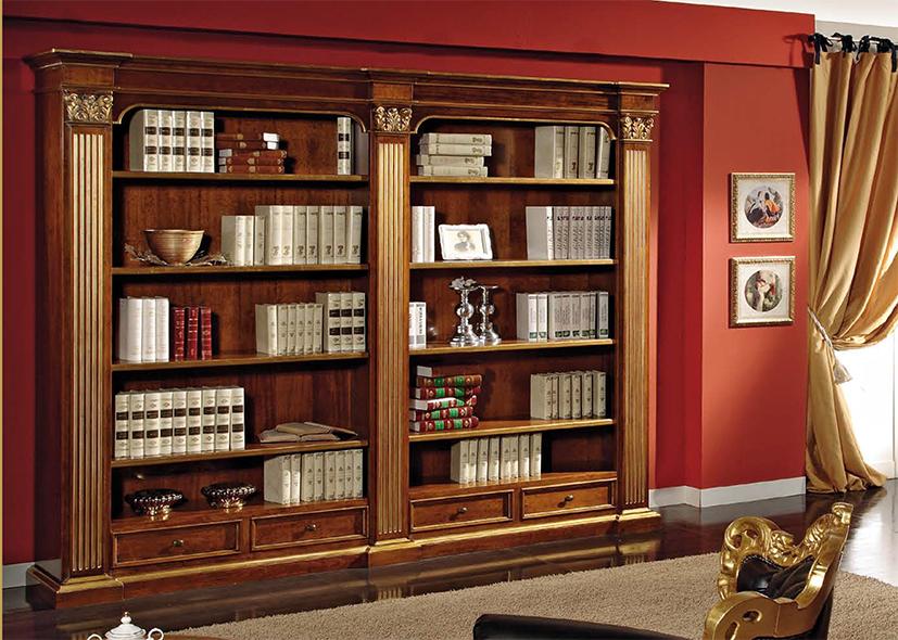Библиотека 2232 scappini & c - стеллажи - гостиная - купить .
