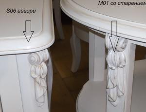 Гостиная Белая Роза фирма Maria Stefania
