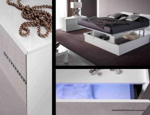 Спальня DIAMOND Bianco фабрика Rossetto Armobil