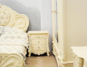 Спальня Элиза люкс цвет крем фабрика Арида