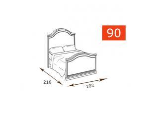 Кровать 90 Gendarme