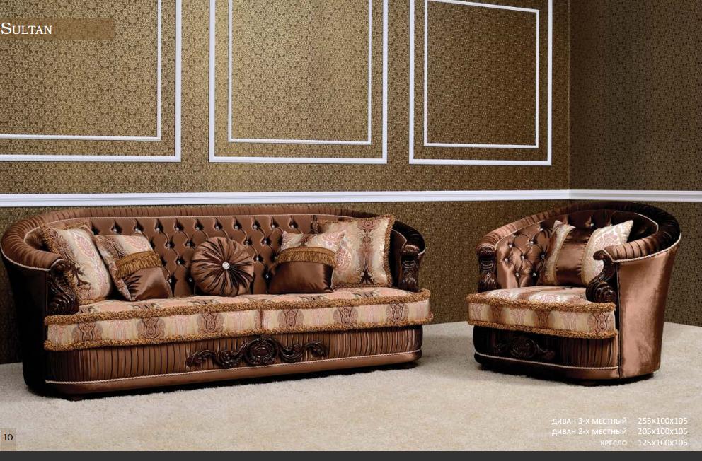 Мягкая мебель Sultan, фабрика Francheska mobili