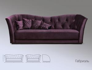 Мягкая мебель Gabriel фабрика Lorusso Divani