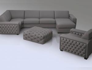 Мягкая мебель Cristina фабрика Lorusso Divani