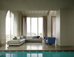 Угловой диван Sonora в коже 2 Colore (Элемент 3-местн.с одним подлокотником+Шезлонг)