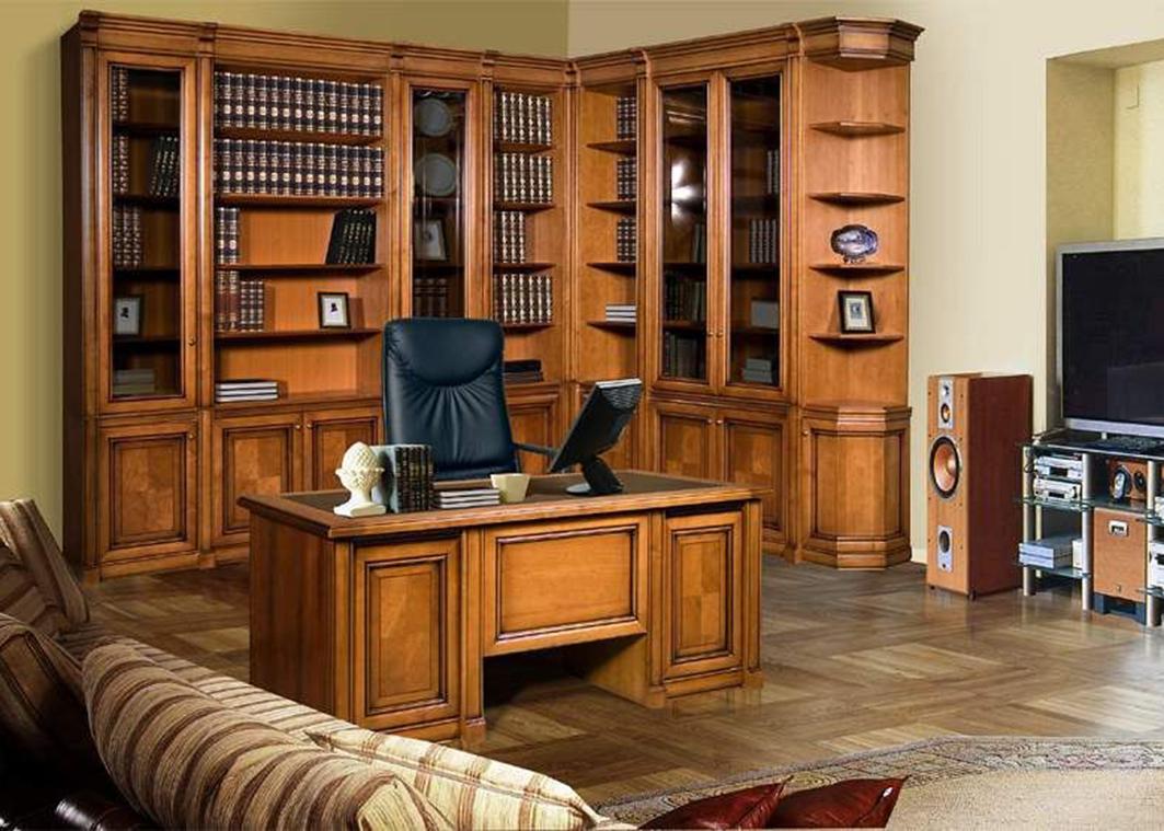 Набор мебели для кабинета по индивидуальному проекту - белме.