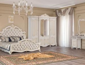 Спальня Рафаэлла беж фабрика Диа-мебель