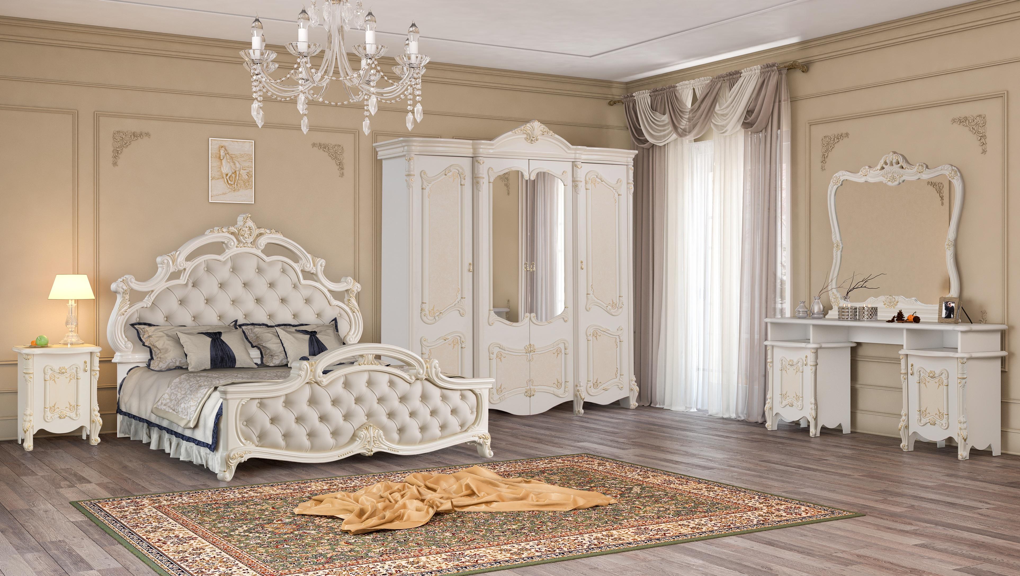Спальня Рафаэлла беж, фабрика Диа-мебель