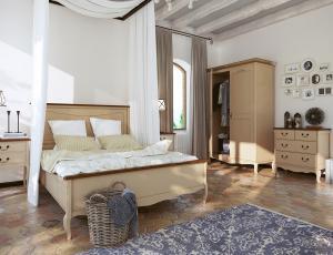 Спальня Leontina cream фабрика Этажерка