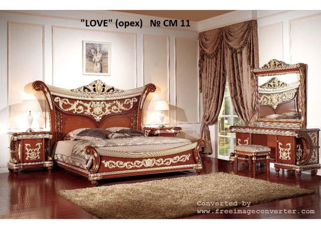 Спальня Love орех, фабрика Sofa-M