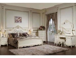 Спальня Глория молочный с золотом  фабрика M&K Furnitur