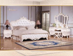 Спальня Мона Лиза белая фирма Kartas Китай